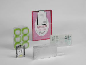 Plastic Packaging for Hard Card pictures & photos