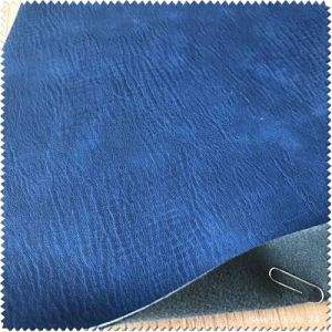 China Faux 1.3mm Thickness PU Leather & Artificial Synthetic Leather for Bag pictures & photos