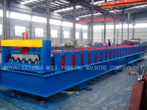 Cold Steel Floor Profile Roll Forming Machine pictures & photos