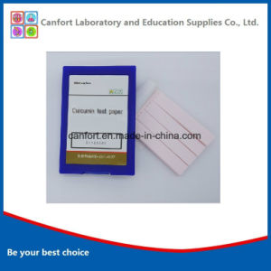 Lab Supplies Indicator Paper Curcumin Test Paper for Laboratory/Education/Testing pictures & photos