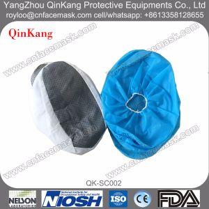 Disposable DOT Pattern Non-Woven Elastic Shoe Covers pictures & photos
