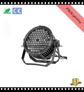 IP65 Waterproof High Brighness LED PAR Can Lights Outdoor Stage Lighting 84 * 3W Rgbwy+UV 6-In1
