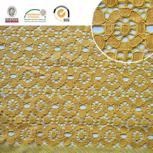 2017 High Quality Embroidery Lace Fabric Polyester Trimming Fancy Melt Polyster Lace for Garments & Home Textiles Ln10043 pictures & photos