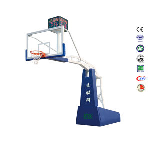 Certificates Passed Basketball Stand, Wholesale Hydraulic Basketball Stand pictures & photos