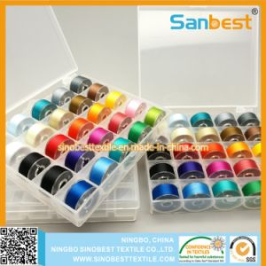 a Size Prewound Bobbins Thread in 25 Colors pictures & photos