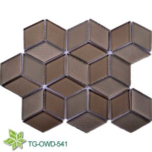 Diamond Glass Mosaic (TG-OWD-541) pictures & photos