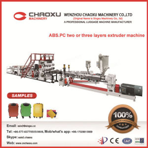 ABS Mix PC Material Plastic Extruder Sheet Machine pictures & photos