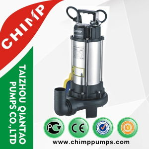V1300d Sewage Submersible Single Phase Motor Water Pump pictures & photos