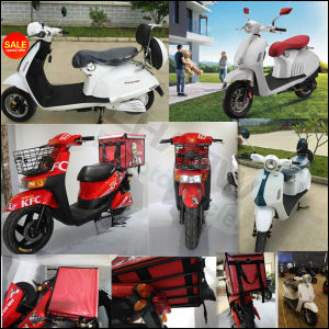Skyhawk-60V-20ah-1000W Li-ion Electric Scooter with Ce Apprival pictures & photos