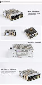 HSC-50 Single Output Switching Power Supply 50W Full AC Range Input From 88 to 264V pictures & photos