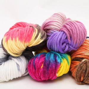 Yarn Fiber Baby Knitting Wool Chunky Yarn for Sock