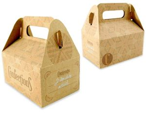 Fancy Customized Design Kraft Paper Gift Confection Box pictures & photos