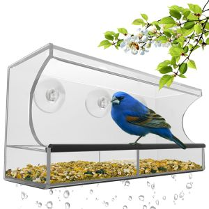 Large Window Bird Feeder with Removable Tray, Drain Holes pictures & photos