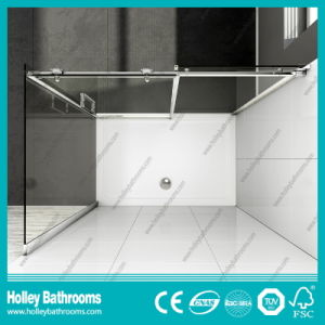 Clean Cut Rectangle Shower Sliding Enclosure with Aluminium Alloy Frame (SE908C) pictures & photos