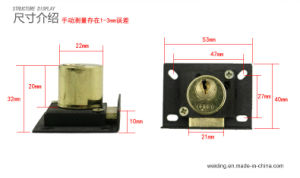 Metal Brass Furniture Antique Drawer Lock pictures & photos