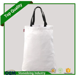 Custom Factory Portable Sewing Cotton Tote Bag with Logo pictures & photos