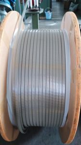 Glass-Fiber Covered Magnet Aluminium Wire 1.5*5 mm 1.5*5.3mm