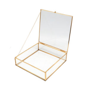 Hot Sale Unique Glass Jewelry Gift Box pictures & photos