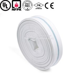 Canvas Flexible Fire Fighting Wearproof Water Delivery Hose pictures & photos