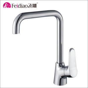 Simple Design Good Quality Hot Sale Kitchen Sink Hot and Cold Water Tap pictures & photos
