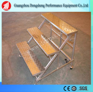 Aluminum Adjustable portable Chorus/Music Church Chorus Stage pictures & photos