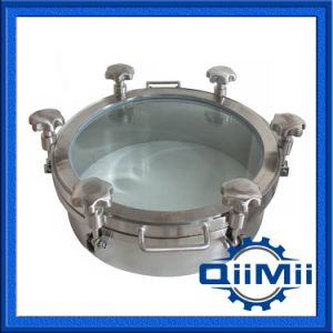Sanitary Non Pressure Full View Manway with Glass pictures & photos