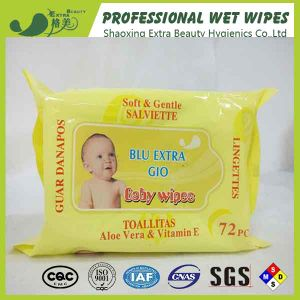 Alcohol Free Skincare Baby Wipes Customized Wet Tissues pictures & photos