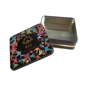 Tin Box Food Packaging Box Wholesale Metal Container Custom Printing pictures & photos
