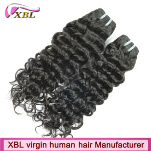 Peruvian Virgin Jerry Curl Human Hair Extensions on Sale pictures & photos