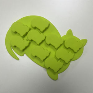 No Smell FDA Star Shape Silicone Ice Cube Mold pictures & photos