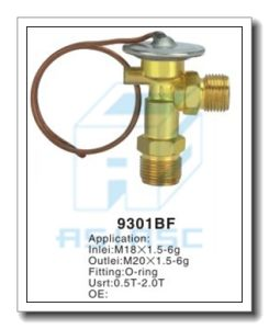 Customized Thermal Brass Expansion Valve for Auto Refrigeration MD9605bf pictures & photos