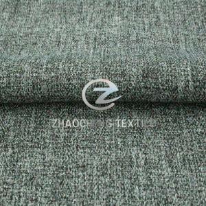 100% Poly Herringbone Linen Mini Matt Fabric for Formal Uniform, Sofa and Workwear (ZCRZ31380)