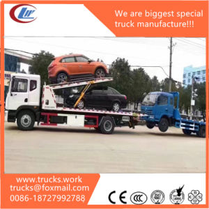 Road Recovery Vehicle Tow Wrecker Car Carrier Truck for Sale pictures & photos