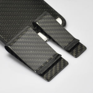 European American High Quality Fashion Style Carbon Fiber Money Clip pictures & photos