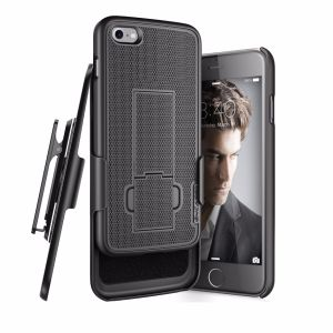 iPhone Belt Clip Encased Thin Secure-Fit Cover with Cliklock Holster pictures & photos