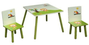 Kids Wooden Square Table and Chairs pictures & photos