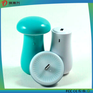 Mushroom Portable Power Bank with LED Light pictures & photos