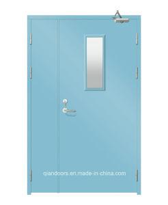 Fire-Rated Flush Steel Fireproof Door for School pictures & photos
