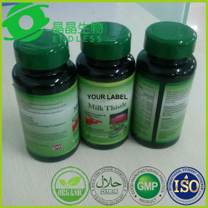 GMP Factory Supply Silymarin Capsules Supplement Milk Thistle Extract Capsule pictures & photos
