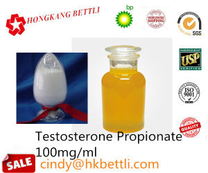 Injection / Oral Androgenic Anabolic Steroids Testosterone Propionate pictures & photos