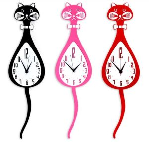 Acrylic Fashion Wall Clock Quartz Clock pictures & photos
