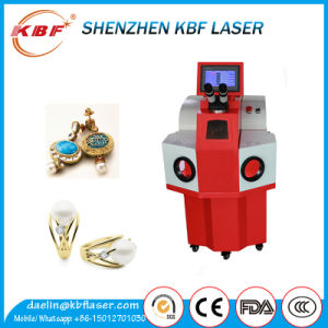 YAG 60W/200W Silver Laser Spot Welding Machine pictures & photos