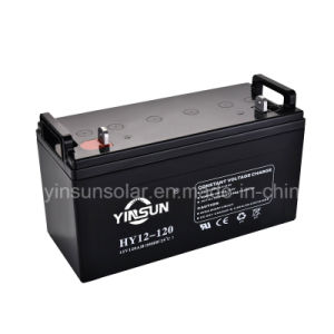 12V 120ah Solar Lead-Acid Battery for Solar Power System pictures & photos