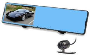 Rear View Mirror 1080P 5.0 Inch GPS Car DVR pictures & photos