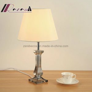 Modern Decorative Transparent Shade Table Lamp for Hotel pictures & photos