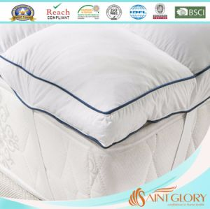 Hotel High Quality Waterproof Thick Feather Mattress Pad pictures & photos