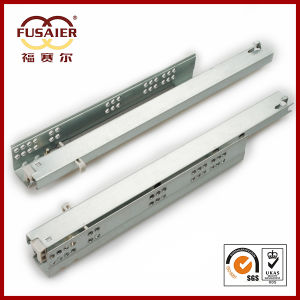 Furniture Hardware Soft-Closing Full Extension Under Mount Slide pictures & photos