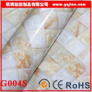 Fashion Plaid Marble PVC Self-Adhesive Wallpaper pictures & photos