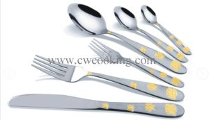12PCS/24PCS/72PCS/84PCS/86PCS Mirror Polished High Class Stainless Steel Cutlery Tableware (CW-CYD816) pictures & photos
