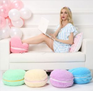 Creative Macaron Plush Foot Warmer pictures & photos